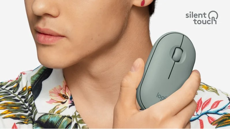 Mouse silent touch